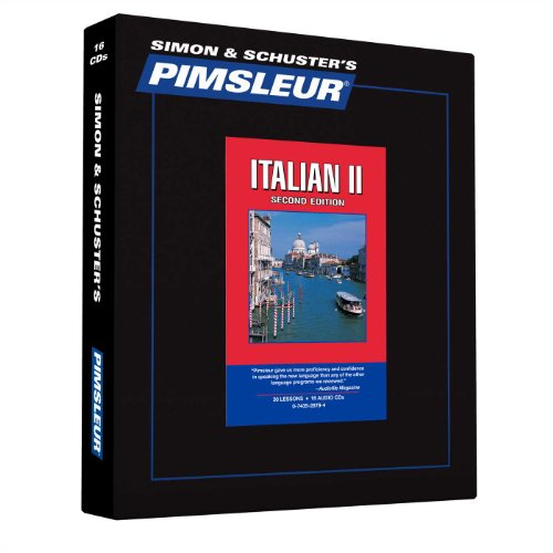 9780743528795: Pimsleur Italian Level 2 CD: Learn to Speak and Understand Italian with Pimsleur Language Programs (Comprehensive)