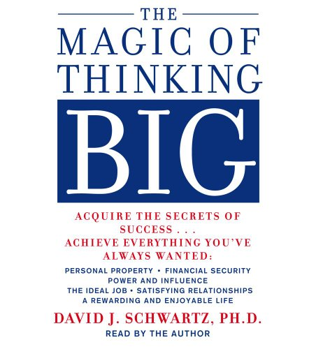 9780743529037: The Magic of Thinking Big