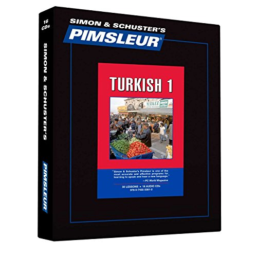 9780743533812: Pimsleur Turkish Level 1 CD: Learn to Speak and Understand Turkish with Pimsleur Language Programs (Comprehensive)