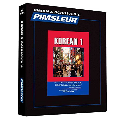 9780743536134: Pimsleur Korean Level 1 CD: Learn to Speak and Understand Korean with Pimsleur Language Programs (Comprehensive)