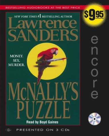 McNally's Puzzle (Archy McNally Novels) (0743537785) by Sanders, Lawrence