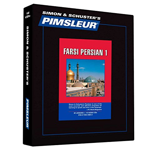 9780743544832: Pimsleur Farsi Persian Level 1 CD: Learn to Speak and Understand Farsi Persian with Pimsleur Language Programs (Comprehensive)