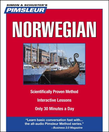 9780743550550: Pimsleur Norwegian: Learn to Speak and Understand Norwegian with Pimsleur Language Programs (Simon & Schuster's Pimsleur)