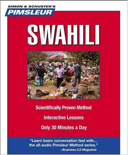 9780743550611: Swahili, Compact: Learn to Speak and Understand Swahili with Pimsleur Language Programs
