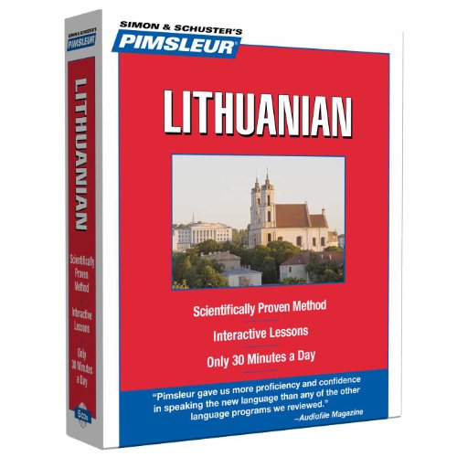 9780743550642: Pimsleur Lithuanian Level 1 CD: Learn to Speak and Understand Lithuanian with Pimsleur Language Programs (Compact)