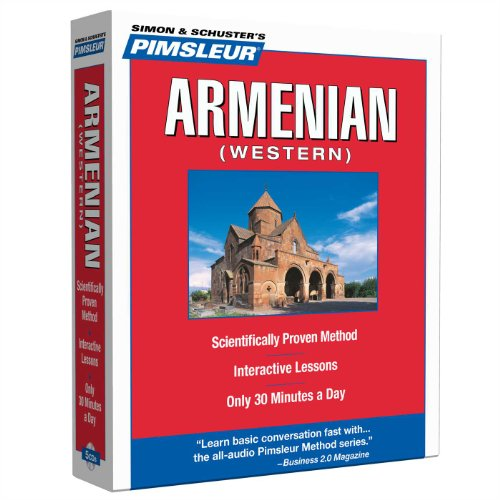 9780743550659: Pimsleur Armenian (Western) Level 1 CD: Learn to Speak and Understand Western Armenian with Pimsleur Language Programs (Compact)