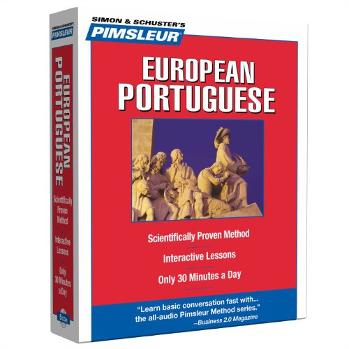 9780743550666: Portuguese (European), Compact: Learn to Speak and Understand European Portuguese with Pimsleur Language Programs