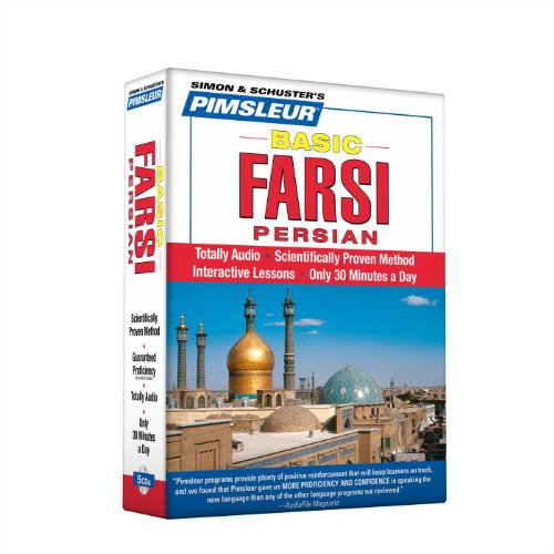 9780743551243: Pimsleur Farsi Persian Basic Course - Level 1 Lessons 1-10 CD: Learn to Speak and Understand Farsi Persian with Pimsleur Language Programs