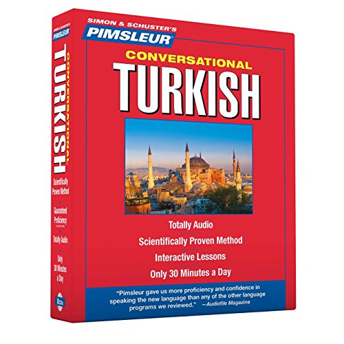 9780743551465: Pimsleur Turkish Conversational Course - Level 1 Lessons 1-16 CD: Learn to Speak and Understand Turkish with Pimsleur Language Programs