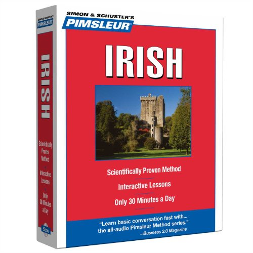 9780743564014: Pimsleur Irish Level 1 CD: Learn to Speak and Understand Irish (Gaelic) with Pimsleur Language Programs (Compact)