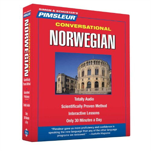 9780743566292: Pimsleur Norwegian Conversational Course - Level 1 Lessons 1-16 CD: Learn to Speak and Understand Norwegian with Pimsleur Language Programs