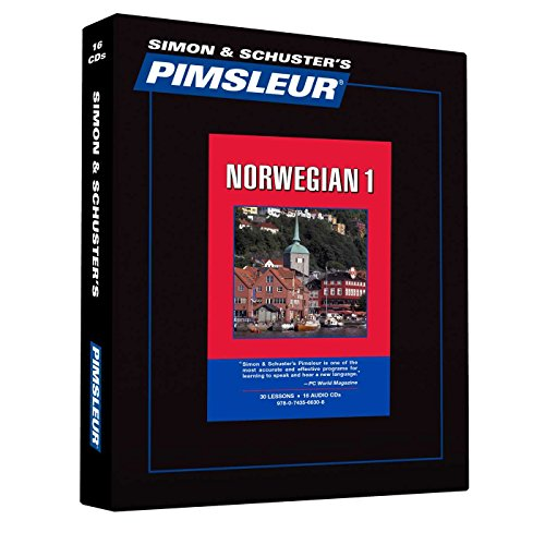 9780743566308: Pimsleur Norwegian Level 1 CD: Learn to Speak and Understand Norwegian with Pimsleur Language Programs (Comprehensive)