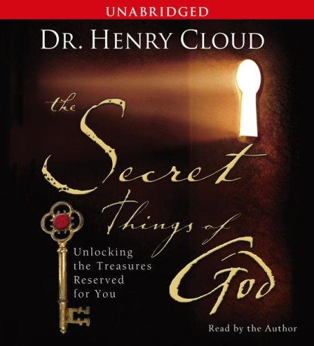 9780743571296: The Secret Things of God: Unlocking the Treasures Reserved for You