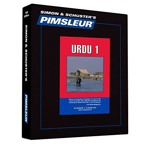 9780743581479: Pimsleur Urdu Level 1 CD: Learn to Speak and Understand Urdu with Pimsleur Language Programs (Comprehensive)
