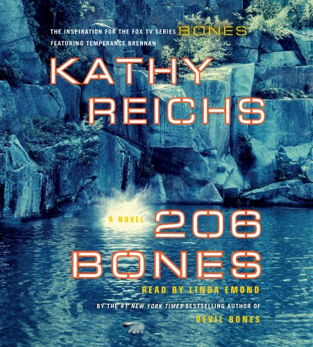 9780743582452: 206 Bones: A Novel (Temperance Brennan Novels)