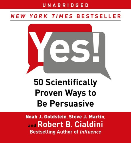 9780743583268: Yes!: 50 Scientifically Proven Ways to Be Persuasive