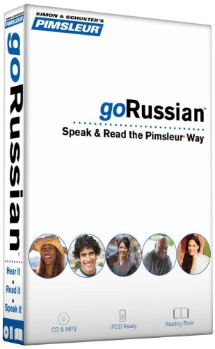 Pimsleur goRussian Course - Level 1 Lessons 1-8 CD: Learn to Speak, Read, and Understand Russian ...