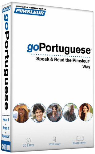 9780743596596: Pimsleur goPortuguese: Speak & Read the Pimsleur Way [With Book(s) and MP3] (Gopimsleur)