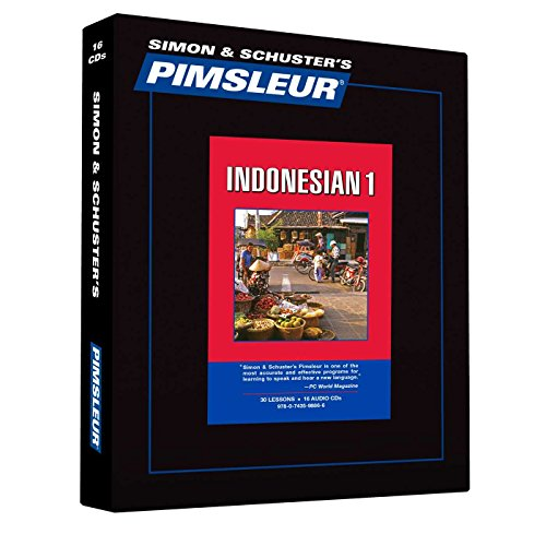 9780743598866: Pimsleur Indonesian Level 1 CD: Learn to Speak and Understand Indonesian with Pimsleur Language Programs (Comprehensive)