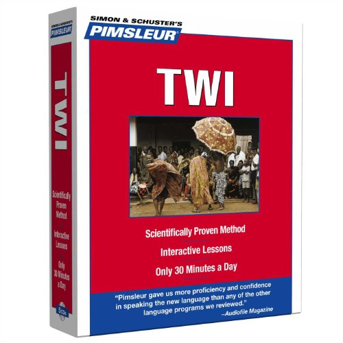 9780743598903: Pimsleur Twi Level 1 CD: Learn to Speak and Understand Twi with Pimsleur Language Programs (Compact)