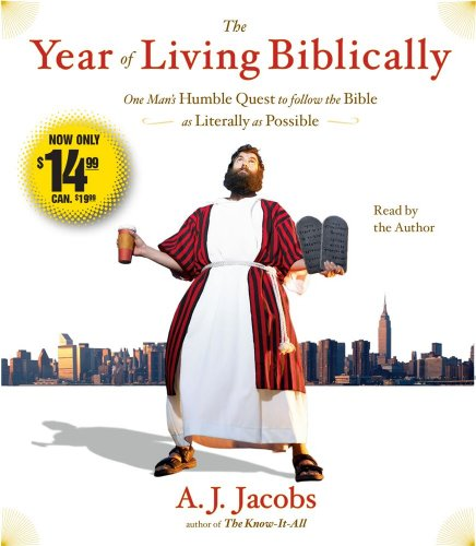 9780743599337: The Year of Living Biblically: One Man's Humble Quest to Follow the Bible as Literally as Possible