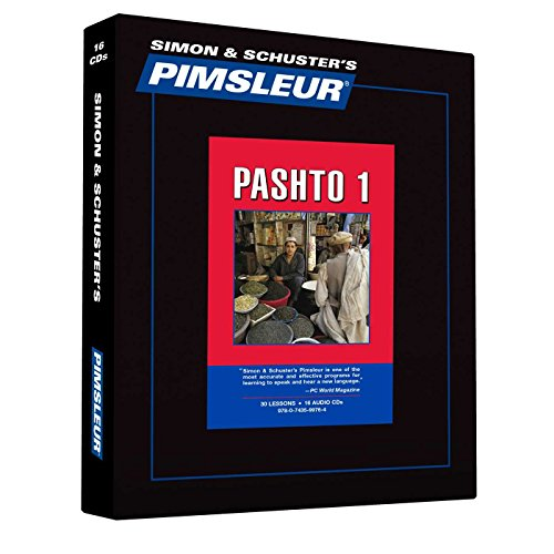 9780743599764: Pimsleur Pashto Level 1 CD: Learn to Speak and Understand Pashto with Pimsleur Language Programs (Comprehensive)