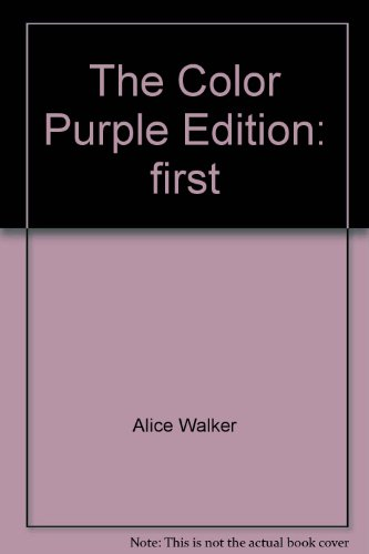 The Color Purple: Meridian, Alice Walker