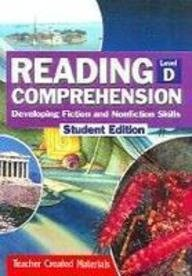 9780743901185: Reading Comprehension: Developing Fiction and Nonfiction Skills, Level D (Student Edition)