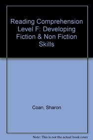9780743901208: Reading Comprehension Level F: Developing Fiction & Non Fiction Skills