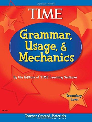 9780743901321: Teacher Created Materials - TIME For Kids: Grammar, Usage, and Mechanics (Secondary) - Grades 7-12 (Exploring Writing)