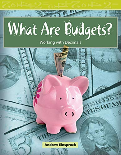 9780743908771: What Are Budgets?: Level 3 (Mathematics Readers)