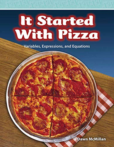 9780743909112: It Started with Pizza: Level 5 (Mathematics Readers)