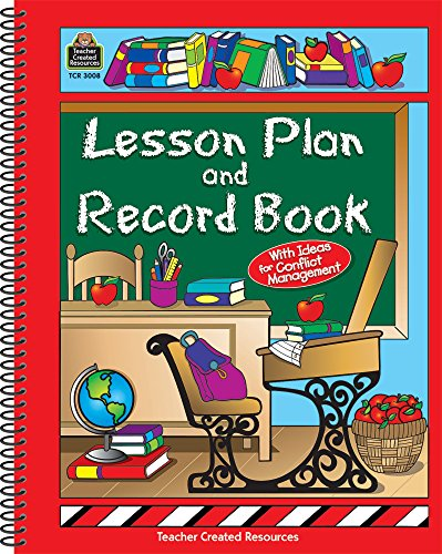 Lesson Plan and Record Book: Teacher Created Resources