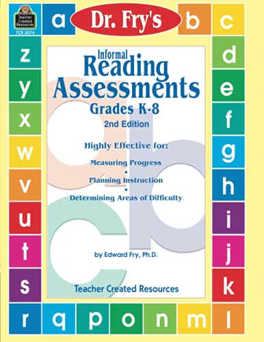 9780743930741: Informal Reading Assessments by Dr. Fry (Dr. Fry's Informal Reading)