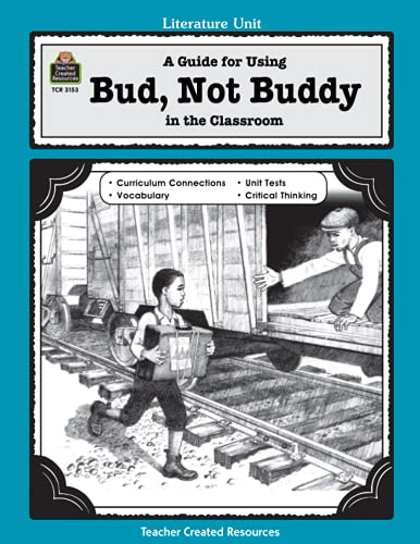 9780743931533: A Guide for Using Bud, Not Buddy in the Classroom (Literature Units)