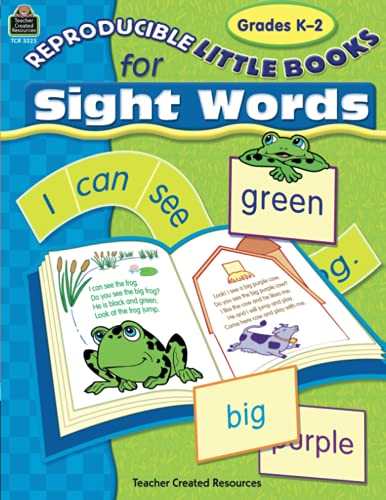 9780743932257: Reproducible Little Books for Sight Words