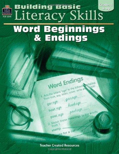 9780743932417: Building Basic Literacy Skills: Word Beginnings & Endings