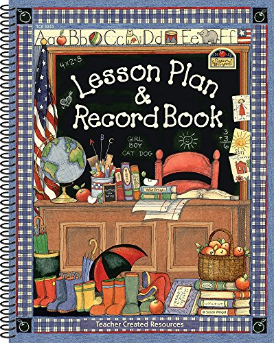 9780743932509: Susan Winget Lesson Plan & Record Book