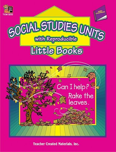 9780743932523: Social Studies Units with Reproducible Little Books