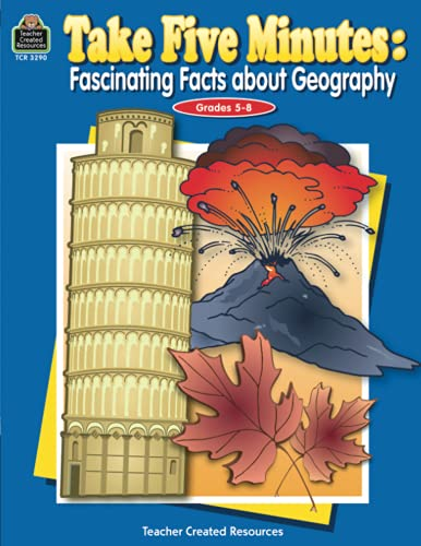 9780743932905: Take Five Minutes: Fascinating Facts about Geography