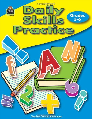9780743933032: Daily Skills Practice Grades 5-6
