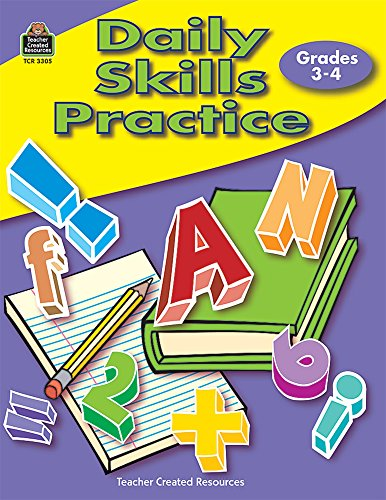 9780743933056: Daily Skills Practice Grades 3-4