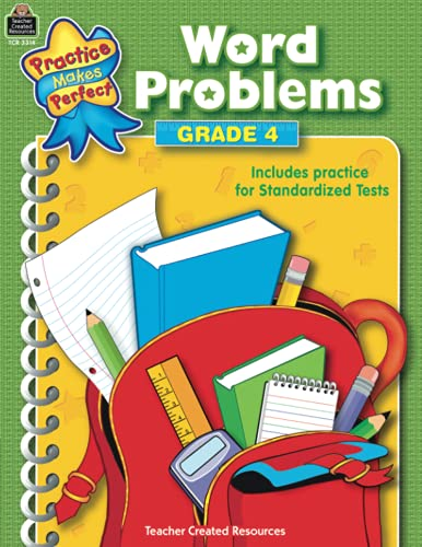 9780743933148: Word Problems Grade 4 (Practice Makes Perfect (Teacher Created Materials))