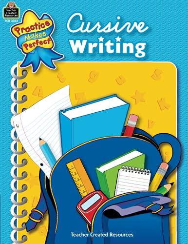 9780743933315: Cursive Writing (Practice Makes Perfect)