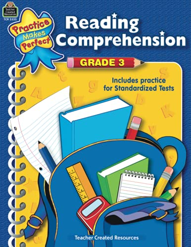 9780743933339: Reading Comprehension: Grade 3 : Includes Practice for Standardized Tests