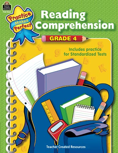 9780743933346: Reading Comprehension: Grade 4