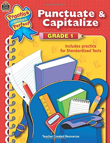 punctuate  u0026 capitalize grade 1  language arts  by breyer