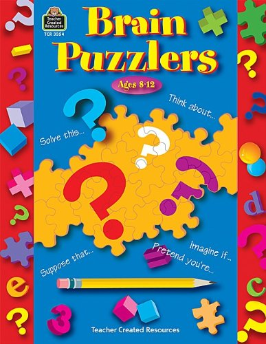 9780743933544: Brain Puzzlers: Fun Thinking Games and Activities to Be Done Independently