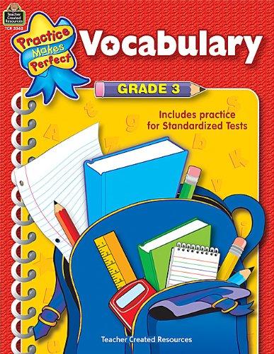 Vocabulary Grade 3 (Language Arts): Stephanie