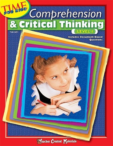 9780743933711: Comprehension & Critical Thinking Level 1 (Time for Kids (Teacher Created Materials))